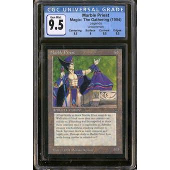 Magic the Gathering Legends Marble Priest CGC 9.5 Gem Mint