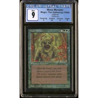 Magic the Gathering Legends Moss Monster CGC 9
