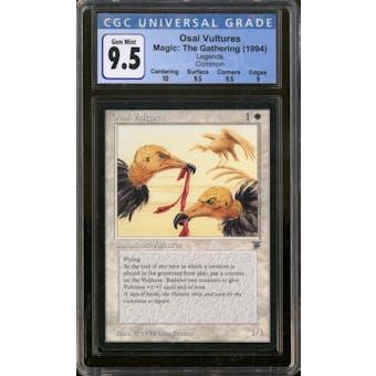 Magic the Gathering Legends Osai Vultures CGC 9.5 Gem Mint