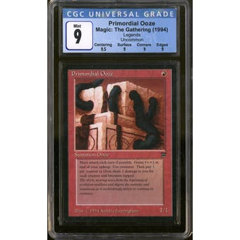 Magic the Gathering Legends Primordial Ooze CGC 9