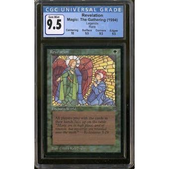 Magic the Gathering Legends Revelation CGC 9.5 Gem Mint Q+