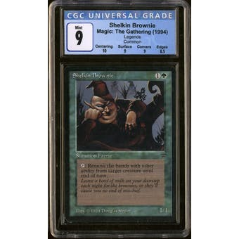 Magic the Gathering Legends Shelkin Brownie CGC 9