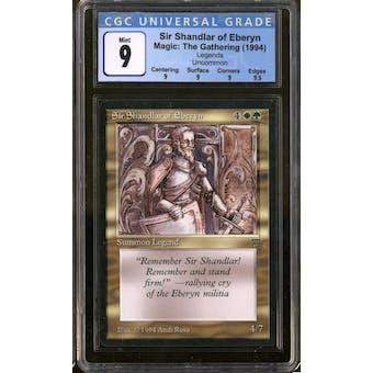 Magic the Gathering Legends Sir Shandlar of Eberyn CGC 9