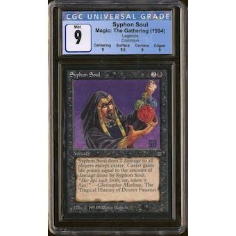 Magic the Gathering Legends Syphon Soul CGC 9