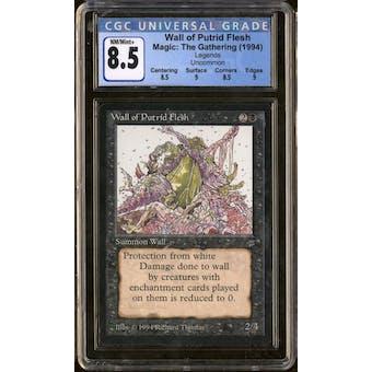 Magic the Gathering Legends Wall of Putrid Flesh CGC 8.5