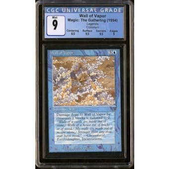 Magic the Gathering Legends Wall of Vapor CGC 9
