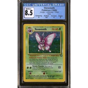 Pokemon Jungle Venomoth 13/64 CGC 8.5