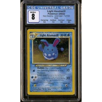 Pokemon Neo Destiny Light Azumarill 13/105 CGC 8