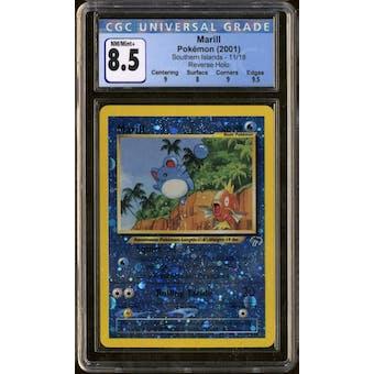 Pokemon Southern Islands Marill 11/18 CGC 8.5