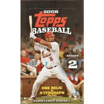 2008 Topps Series 2 Baseball Hobby Box