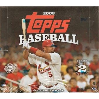 2008 Topps Series 2 Baseball Jumbo Box