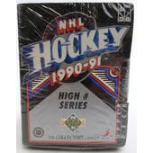 1990/91 Upper Deck English High # Hockey Factory Set (Lot of 4) (Reed Buy)