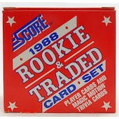 1988 Score Traded & Rookies Baseball Factory Set (Reed Buy)