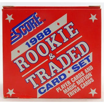 1988 Score Traded & Rookies Baseball Factory Set (Reed Buy)