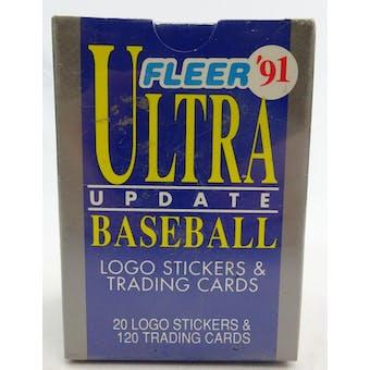1991 Fleer Ultra Update Baseball Factory Set (Reed Buy)