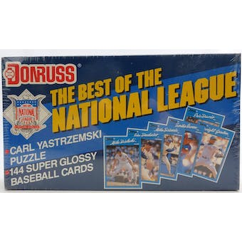 1990 Donruss Best of the National League Baseball Factory Set (Reed Buy)