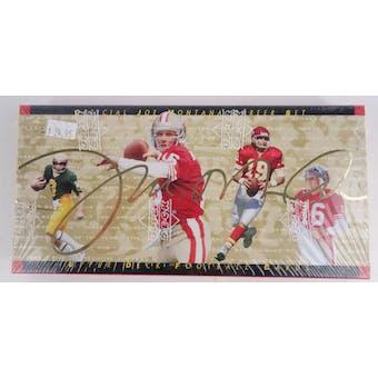 1995 Upper Deck Football Joe Montana Career Set (Reed Buy)
