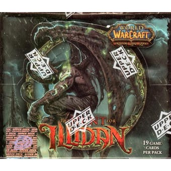 World of Warcraft The Hunt for Illidan Booster Box