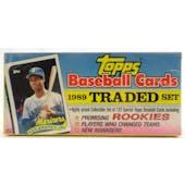 1989 Topps Traded & Rookies Baseball Retail Set (Reed Buy)