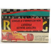 1992 All World Racing Factory Set (Reed Buy)