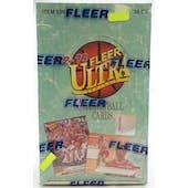 1992/93 Fleer Ultra Series 1 Basketball Hobby Box (Reed Buy)
