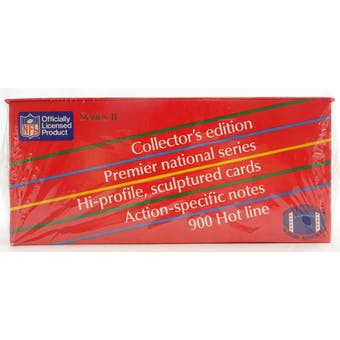 1990 Action Packed Series 2 Football Wax Box (Reed Buy)