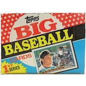 1989 Topps Big Baseball Series 1 Box (Reed Buy)