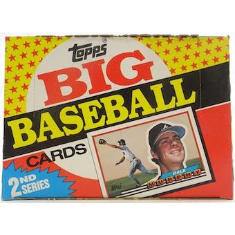 1989 Topps Big Baseball Series 2 Box (Reed Buy)