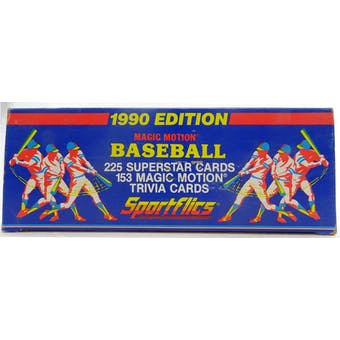 1990 Sportflics Baseball Factory Set (Reed Buy)