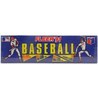 1991 Fleer Baseball Factory Set (Reed Buy)