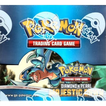 Pokemon Diamond & Pearl Majestic Dawn Booster Box