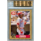 1987 Topps #648 Barry Larkin RC BGS 9.5 *6631 (Reed Buy)