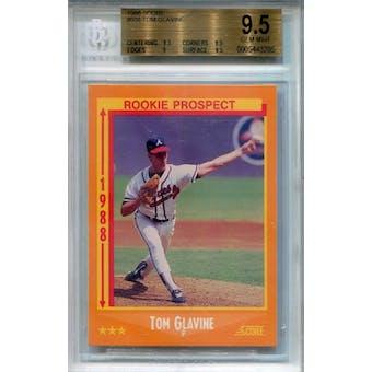 1988 Score #638 Tom Glavine RC BGS 9.5 *3292 (Reed Buy)