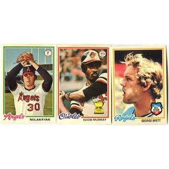 1978 O-Pee-Chee Baseball Complete Set (NM-MT)
