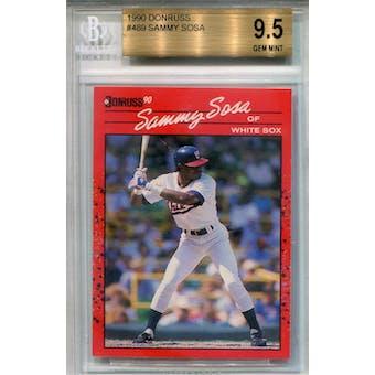 1990 Donruss #489 Sammy Sosa RC BGS 9.5 *3935 (Reed Buy)