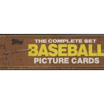 1982 Topps Baseball Factory Set