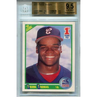 1990 Score #663 Frank Thomas RC BGS 9.5 *6261 (Reed Buy)