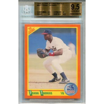 1990 Score Rookie/Traded #86T Frank Thomas BGS 9.5 *9078 (Reed Buy)