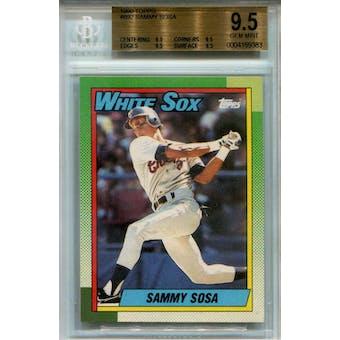 1990 Topps #692 Sammy Sosa RC BGS 9.5 *9383 (Reed Buy)