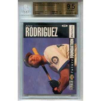 1994 Collector's Choice #647 Alex Rodriguez RC BGS 9.5 *9150 (Reed Buy)