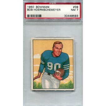 1950 Bowman #39 Bob Hoernschemeyer PSA 7 *8593 (Reed Buy)