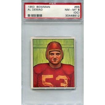 1950 Bowman #65 Al Demao RC PSA 8OC *8612 (Reed Buy)