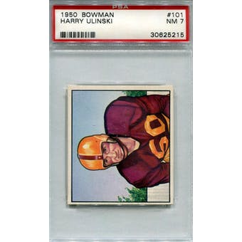 1950 Bowman #101 Harry Ulinski PSA 7 *5215 (Reed Buy)