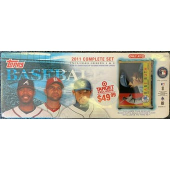 2011 Topps Baseball Factory Set Retail Box (Target) (Babe Ruth Edition)