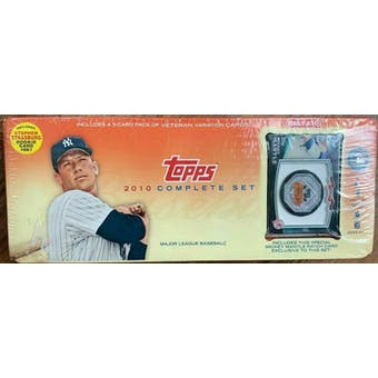 2010 Topps Baseball Factory Set Retail Box (Target) (Mickey Mantle Edition)