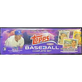 2014 Topps Factory Set Baseball (Box) (Target) (Sandy Koufax Edition)