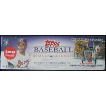 2013 Topps Factory Set Baseball Retail (Box) (Target) (Hank Aaron Edition)