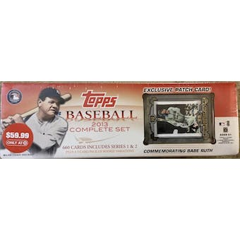 2013 Topps Factory Set Baseball Retail (Box) (Target) (Babe Ruth Edition)