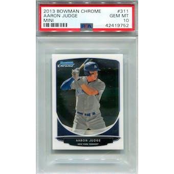 2013 Bowman Chrome Mini #311 Aaron Judge PSA 10 *9752 (Reed Buy)