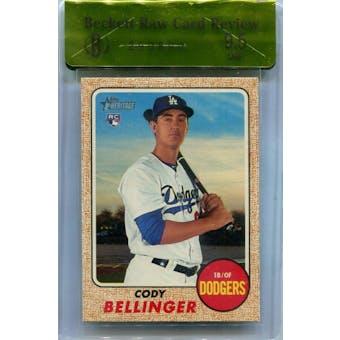 2017 Topps Heritage #678 Cody Bellinger BGS RCR 9.5 *0890 (Reed Buy)